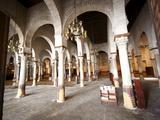 Prayer Hall of the Great Mosque Okba  Kairouan  UNESCO World Heritage Site  Tunisia