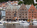 Bryggen  UNESCO World Heritage Site  Bergen  Norway  Scandinavia  Europe