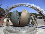 Third Tunnel  Dug By North Koreans to Invade South Korea  Near Panmunjom  Demilitarized Zone