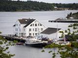 Harbour  Grimstad  Aust-Agder  Norway  Scandinavia  Europe