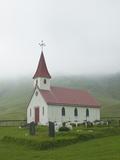 Country Church  Iceland  Polar Regions