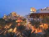Arabesque Architecture of the Madinat Jumeirah Hotel at Dusk  Jumeirah Beach  Dubai  Uae