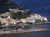 View of Amalfi  Amalfi Coast  Campania  Italy  Europe