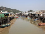 Stilt Houses  Tai O Fishing Village  Lantau Island  Hong Kong  China  Asia