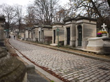 Pere Lachaise Cemetery  Paris  France  Europe