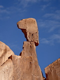 Queen Nefertiti Rock Formation  Arches National Park  Utah  United States of America  North America