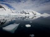 Glacier  Paradise Bay  Antarctic Peninsula  Antarctica  Polar Regions