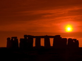 Stonehenge  UNESCO World Heritage Site  Wiltshire  England  United Kingdom  Europe