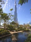 Burj Khalifa  the Tallest Man Made Structure in the World at 828 Metres  Downtown Dubai  Dubai  Uae