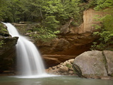 Lower Falls  Hocking Hills State Park  Ohio  United States of America  North America