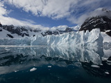 Glacier  Paradise Bay  Antarctic Peninsula  Antarctica  Polar Regions
