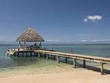 Boat Jetty  Isla Bastimentos  Bocas Del Toro  Panama  Central America