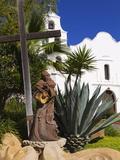 Father Junipero Serra Statue  Mission Basilica San Diego De Alcala  San Diego  California