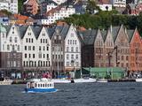 Bryggen  UNESCO World Heritage Site  Bergen  Hordaland  Norway  Scandinavia  Europe