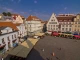 Raekoja Plats (Town Hall Square)  Old Town of Tallinn  Estonia  Baltic States  Europe