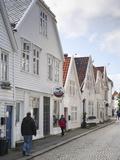 Ovregaten  Bergen  Hordaland  Norway  Scandinavia  Europe