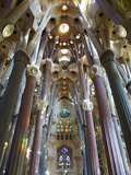 Sagrada Familia  UNESCO World Heritage Site  Barcelona  Catalonia  Spain  Europe
