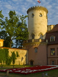 The Knights Stronghold of Sigulda in the Gauja National Park  Sigulda  Latvia  Baltic States