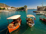 The Harbour of Nafpaktos  Central Greece  Greece  Europe