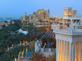 Arabesque Architecture of the Madinat Jumeirah Hotel  Jumeirah Beach  Dubai  Uae