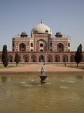 Fountain  Humayun's Tomb  Delhi  India  Asia