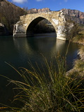 A Ruined Bridge Near Camarassa  Lleida  Lleida Province  Catalonia  Spain  Europe