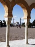 Mausoleum of Habib Bourguiba  Monastir  Tunisia  North Africa  Africa