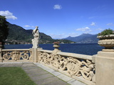 View From Terrace  Lenno  Lake Como  Lombardy  Italy  Europe