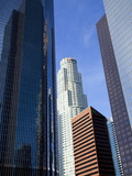 Downtown Skyscrapers in Los Angeles  California  United States of America  North America