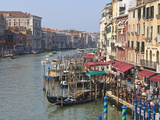 Grand Canal  Venice  UNESCO World Heritage Site  Veneto  Italy  Europe