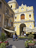 Church of the Madonna Del Carmine in Piazzo Tasso in Sorrento  Neapolitan Riviera  Campania  Italy