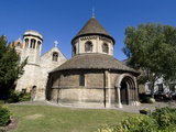 The Round Church  Dating From 1130  Cambridge  Cambridgeshire  England  United Kingdom  Europe