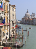 Grand Canal and Santa Maria Della Salute  Venice  UNESCO World Heritage Site  Veneto  Italy  Europe