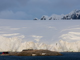 English Research Station  Penguin Colony  Port Lockroy  Antarctic Peninsula  Antarctica