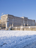 Buckingham Palace in Winter  London  England  United Kingdom  Europe
