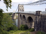 Menai Bridge  Anglesey  North Wales  Wales  United Kingdom  Europe