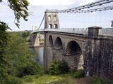 Menai Bridge  Anglesey  North Wales  Wales  United Kingdom  Europe
