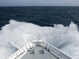Cruise Ship in High Seas  Drake Passage  Antarctica  Polar Regions