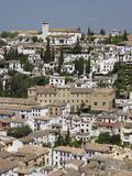 Old City  Granada  Andalucia  Spain  Europe