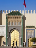 Royal Palace  Fez  Morocco  North Africa  Africa