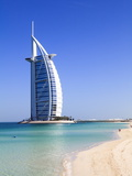 The Iconic Burj Al Arab Hotel  Jumeirah  Dubai  United Arab Emirates  Middle East