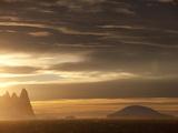 Sunrise at Gerlach Strait  Antarctica  Polar Regions