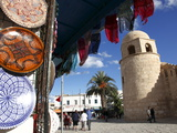 Handicraft Shop Outside the Great Mosque  Place De La Grande Mosque  Medina  Sousse  Tunisia