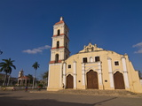 Colonial Church in Remedios  Cuba  West Indies  Caribbean  Central America