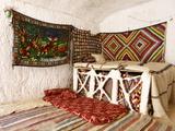 Interior  Berber Underground Dwellings  Matmata  Tunisia  North Africa  Africa