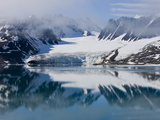 Glacier  Spitzbergen  Svalbard  Norway  Arctic  Scandinavia  Europe