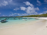 White Sand Beach Near Poste De Flacq  Mauritius  Indian Ocean  Africa