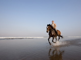 Horse Riding at the Beach  Kuta Beach  Bali  Indonesia  Southeast Asia  Asia