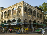 Old Destroyed Italian Colonial Building  Djibouti  Republic of Djibouti  Africa