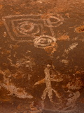 Pictographs  Honanki Heritage Site  Coconino National Forest  Arizona  USA